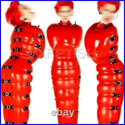 100% Latex Rubber Gummi 0.48mm Inflatable Leotard Bodysuit Catsuit Suit Handmade