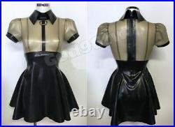 100% Latex Rubber Gummi. 45mm Dress Skirt Catsuit Suit Buckle Unique Party NEW