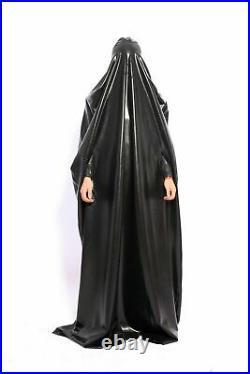 100% Latex Rubber Gummi Catsuit costume mummy sack 0.4mm Zentai Bodybag Suit Hot