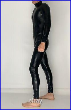 Catsuit Latex Rubber Front Zip 0.6 mil 100% Latex Rubber