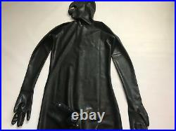 Catsuit Latex Rubber Full Coverage, Condom, Hood, Gloves, Feet 0.4 mil 100% Latex