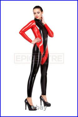 Classic Latex Rubber Catsuit. Easy-On (Chlorinated)