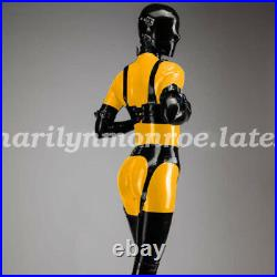 Latex Rubber Bodysuit All-body Suit Catsuit With Accessories All Suit XXS-XXL