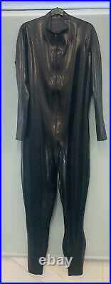 Libidex Latex Male Neo Catsuit. Black. XL. Fetish/Rubber/Gummi
