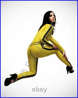 MEDIUM KILL BILL 100% Latex Rubber Catsuit Second Skin Stunning Body Suit