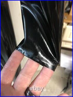 Mens New rubber latex catsuit Size Medium