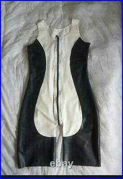 Mens rubber latex catsuit