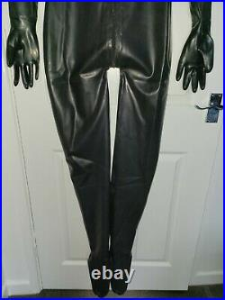 NEW Latex Rubber Catsuit Doll suit with Hood feet and gloves full bodiesUKseller