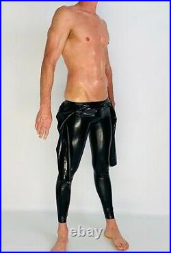 Neck Entry Catsuit with Crotch Zipper 0.4 mil 100% Latex Rubber