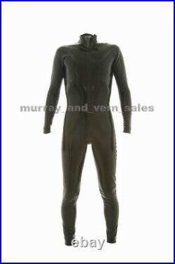 Pure by M and V Mans Catsuit Latex Rubber Size Extra Large