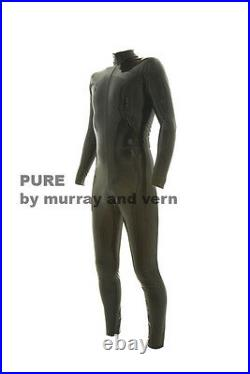 Pure by M and V Mans Catsuit latex rubber gummi