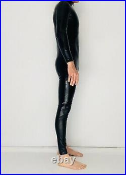 Rubber Latex Catsuit Front Zip 0.4 mil 100% Latex Rubber