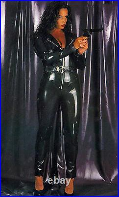 The Federation Rubber Latex Catsuit Catwoman Cross Dress New