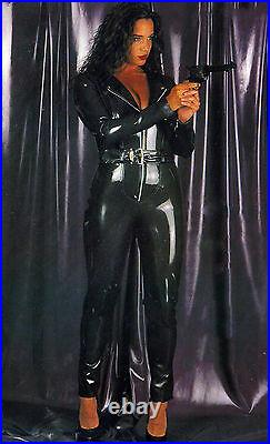 The Federation Rubber Latex Catsuit Long Sleeves All Sizes T. V