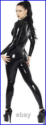 Westward Bound Aphrodite Latex Catsuit Black